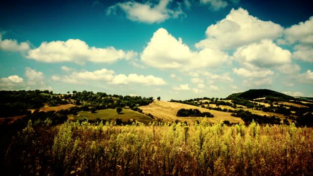 timelapse of maremma countryside: tuscany - tuscany stock videos & royalty-free footage