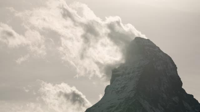Timelapse of Matterhorn, Switzerland.