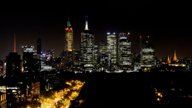 Time-lapse of Melbourne CBD
