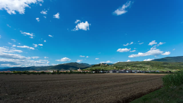MONTEMURLO - TL: TimeLapse of Montemurlo in Tuscany near Florence