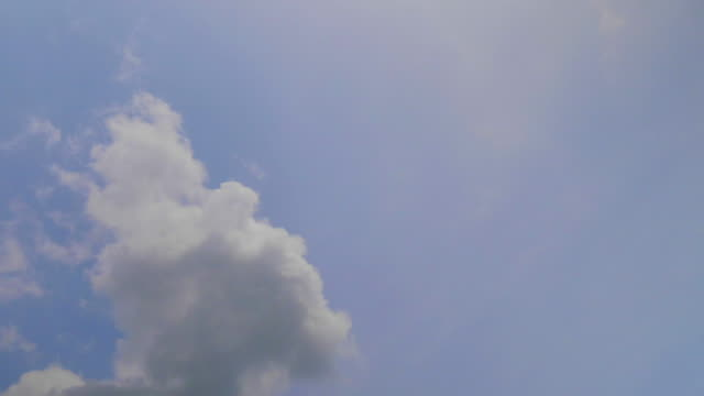 Timelapse der Wolken bewegen