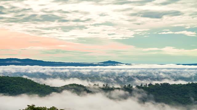 vídeos y material grabado en eventos de stock de timelaps'of moving niebla - cambio de oficina