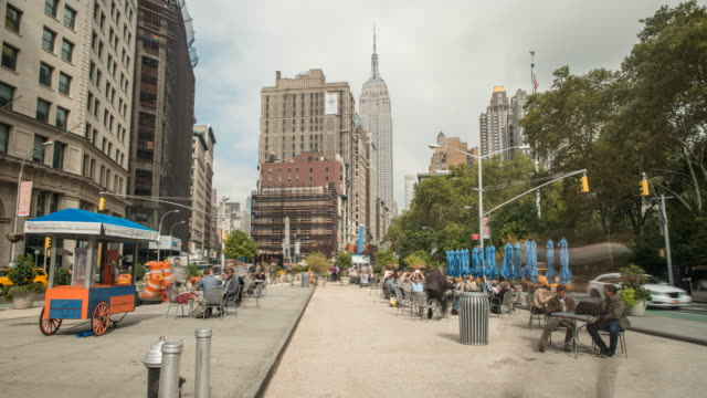 Time-lapse of NYC scene