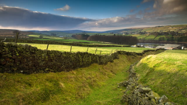 Timelapse of Old Cattle Track on Yorkshire Moors