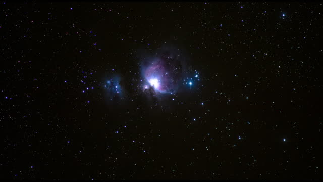 A time-lapse of Orion Nebula from the White Mountains, California, USA