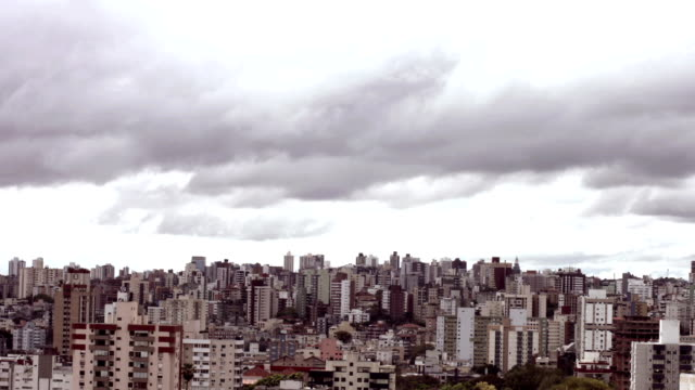 Timelapse of Porto Alegre City