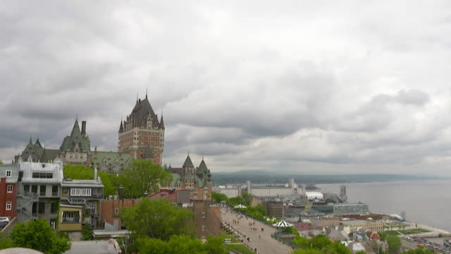 Timelapse of Quebec's waterfront