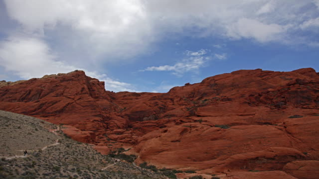 time-lapse of red rock canyon national conservation area, las vegas, nevada. - red rocks stock videos and b-roll footage