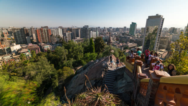 Timelapse of Santiago de Chile Skyline
