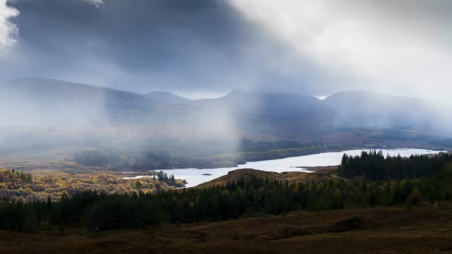 timelapse of scotland : glencoe - scottish culture stock videos & royalty-free footage