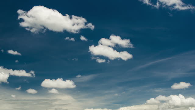 time-lapse of sky and cloudy movement formation of cloud - evaporation stock videos & royalty-free footage
