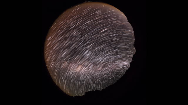 timelapse of star trails - cerro paranal stock videos and b-roll footage