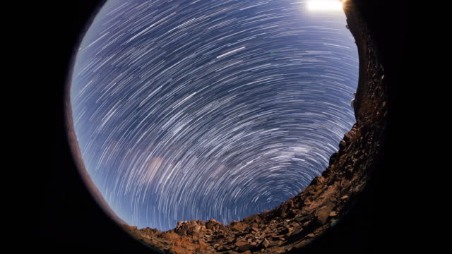 Timelapse of Star Trails