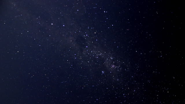 timelapse of stars with the southern cross