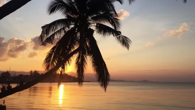 TimeLapse of Sunset at Samui island, Thailand