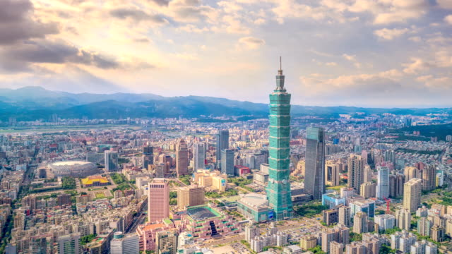 timelapse of taipei - taipei stock videos & royalty-free footage