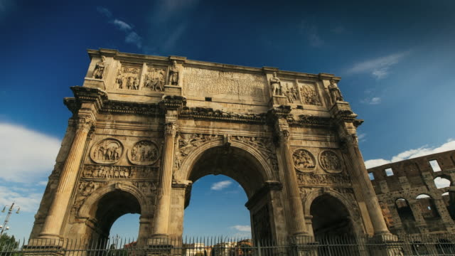 Timelapse of the Arch of Trajan, Rome