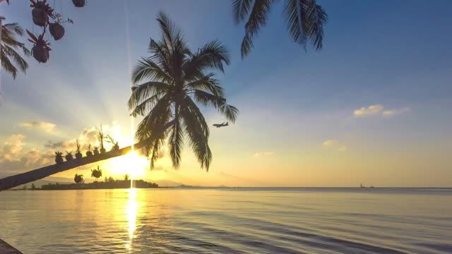 TimeLapse of the Beach at Samui island, Thailand