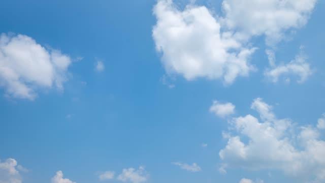 vídeos y material grabado en eventos de stock de timelapse del cielo despejado - cumulonimbo