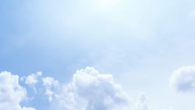 Zeitraffer des klaren Himmels