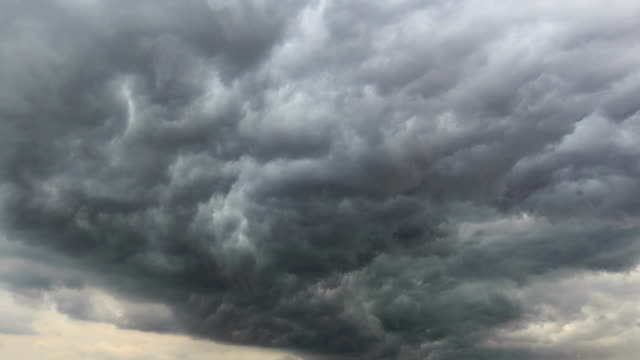 vídeos y material grabado en eventos de stock de timelapse de la nube - huracán