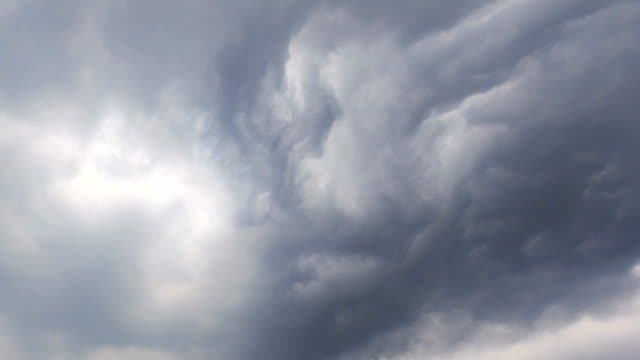 timelapse of the cloud - tropical storm stock videos & royalty-free footage