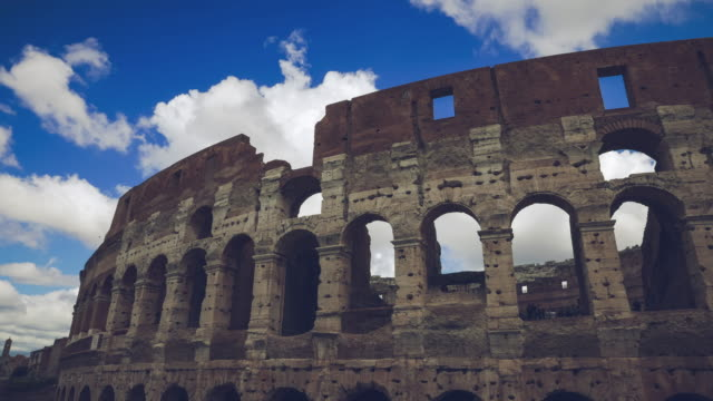 Timelapse of the Colosseo of Rome