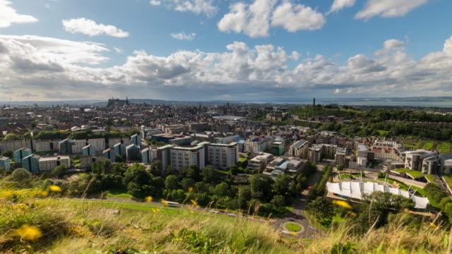 Timelapse of the Edinburgh skyline