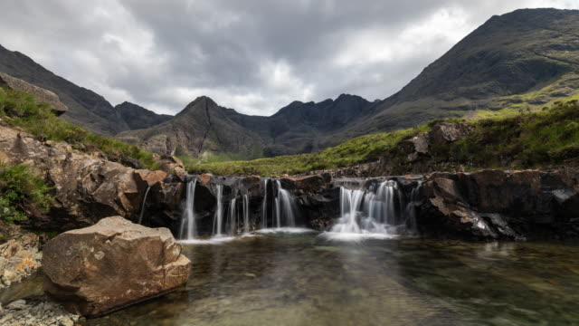 Timelapse of The Fairy Pools in the Isle of Skye