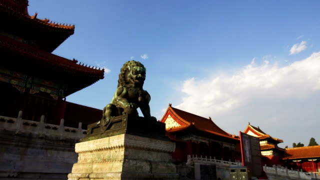 timelapse of the forbidden city - forbidden city stock videos & royalty-free footage
