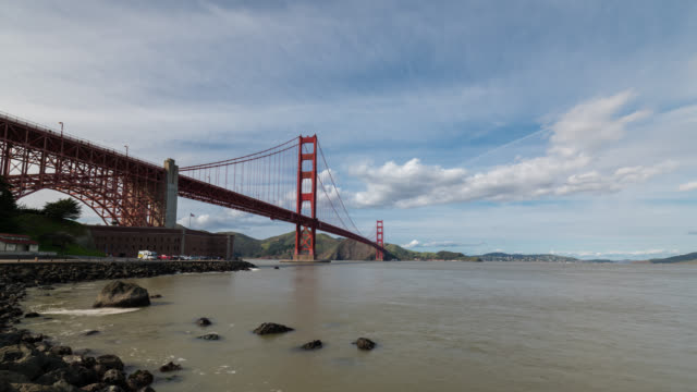 SAN FRANCISCO: TimeLapse of the Golden Gate Bridge from below