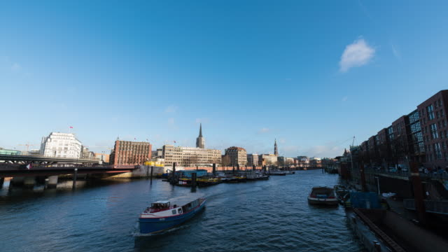 HAMBURG: TimeLapse of the Hamburg Canal