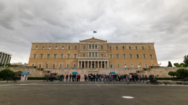 Timelapse of the Hellenic Parliament