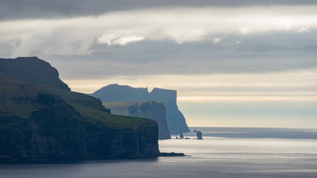 Timelapse of the iconic cliff in the Faroe Islands