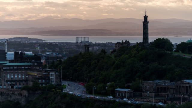 Timelapse of the iconic Dugald Stewart Monument