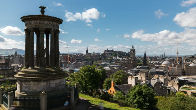 Timelapse of the Iconic Edinburgh Skyline