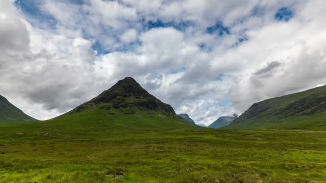 Timelapse of the Iconic Etive Mor in Glencoe