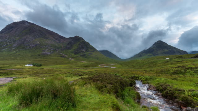 Timelapse of the iconic Glencoe