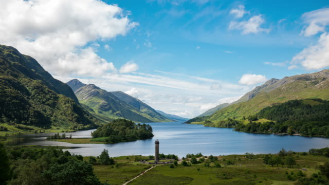 Timelapse of the iconic Glenfinnan Monument