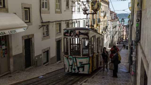 Timelapse of the iconic Lisbon tram