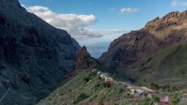 Time-lapse of the iconic Masca valley in Tenerife
