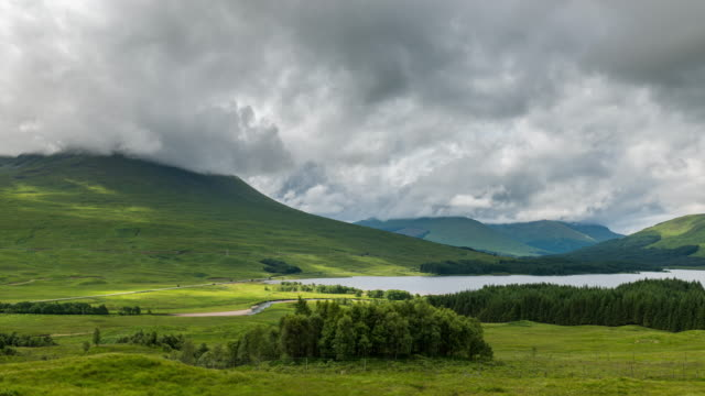 Timelapse of the Iconic Scottish Highlands