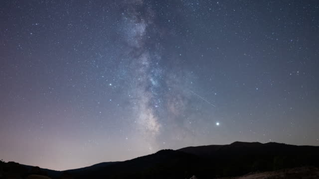 timelapse of the milky way - milky way stock videos & royalty-free footage