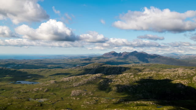 Timelapse of the Scottish Highlands