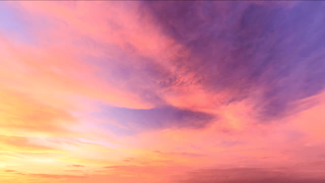 timelapse of the sky - sunrise dawn stock videos & royalty-free footage