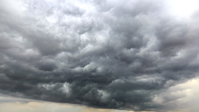 timelapse of the sky - tropical storm stock videos & royalty-free footage