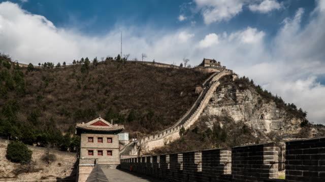 Timelapse of the splendid landscape of Juyongguan Great Wall, Beijing, China