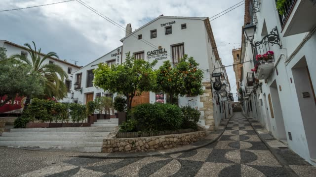Time-lapse of the streets in Altea