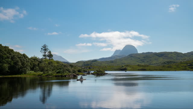 Timelapse of the Suilven in the Scottish Highlands