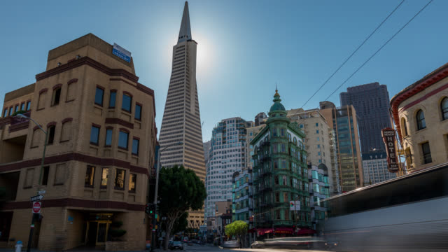 SAN FRANCISCO: TimeLapse of the Transamerica Pyramid